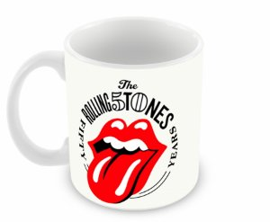 Caneca Rolling Stones 50 years