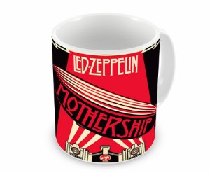 Caneca Led Zeppelin Mothership