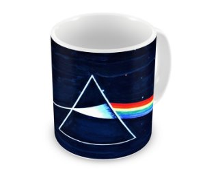 Caneca Pink Floyd Dark Side Of The Moon Blue