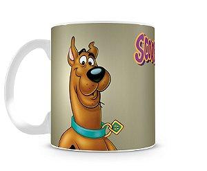 Caneca Scooby Doo Cinza