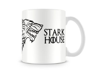 Caneca Game of Thrones Stark White