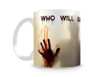 Caneca The Walking Dead Who Will Survive
