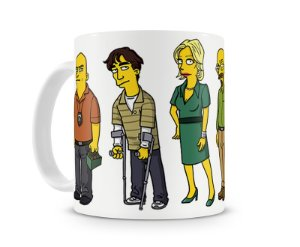 Caneca Breaking Bad The Simpsons Personagens II
