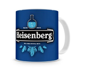 Caneca Breaking Bad Heisenberg Lab