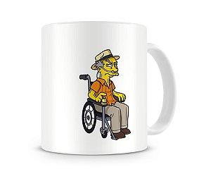Caneca Breaking Bad Simpsons Hector Salamanca