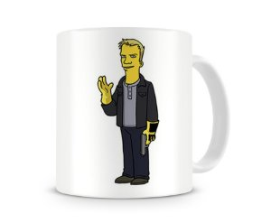 Caneca Breaking Bad Simpsons Todd