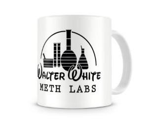Caneca Breaking Bad Walter White Meth Lab