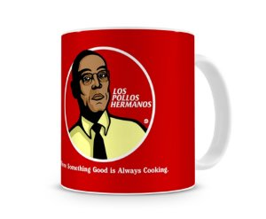 Caneca Breaking Bad Los Pollos Hermanos - Gus