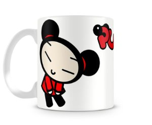 Caneca Pucca red