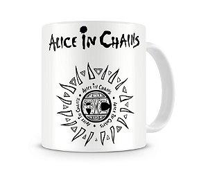 Caneca Alice Chains Branca
