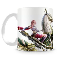 Caneca Final Fantasy Lightning