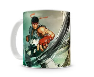Caneca Street Fighter Ryu