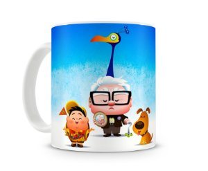 Caneca Up Altas Aventuras Cartoon