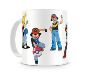 Caneca Pokémon Ash Ketchum II