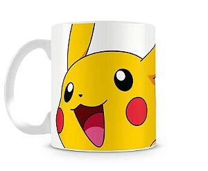 Caneca Pokémon Pikachu Face II