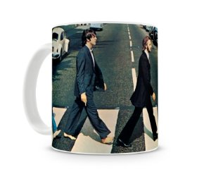 Caneca Beatles Abbey Road