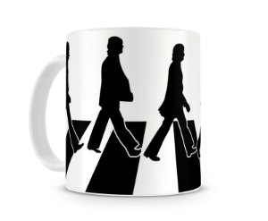 Caneca Beatles Abbey Road Shadow