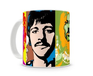 Caneca Beatles Color