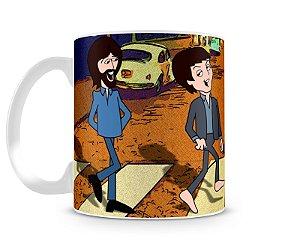 Caneca Beatles Desenho Abbey Road