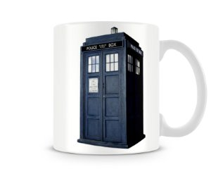 Caneca Doctor Who Police Box