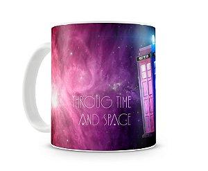 Caneca Doctor Who Tardis I