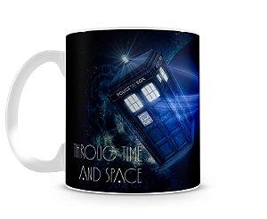 Caneca Doctor Who Tardis II