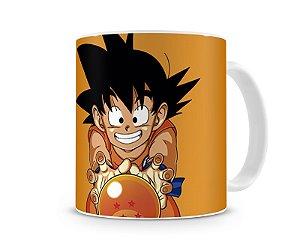 Caneca Dragon Ball Goku Nuvem Voadora