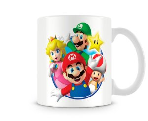 Caneca Mario Bros All I