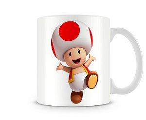 Caneca Mario Bros Toad