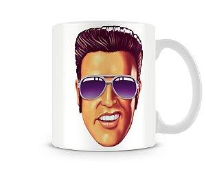 Caneca Elvis Presley Desenho