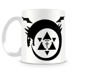 Caneca Fullmetal Alchemist Symbols
