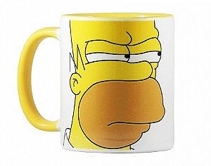 Caneca Homer Yellow