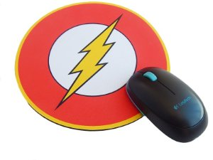 Mousepad Redondo Flash