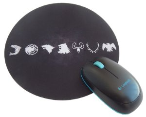 Mousepad Redondo GOT Casas III