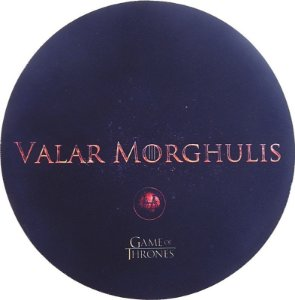 Mousepad Redondo GOT Valar Morghulis