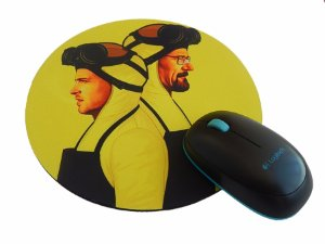 Mousepad Redondo Breaking Bad Walt and Jessie