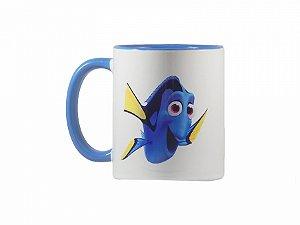 Caneca Procurando Dory Azul