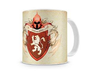 Caneca Game of Thrones Brasão Lannister