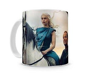 Caneca Game of Thrones Daenerys e Jorah