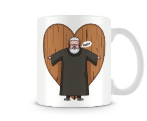 Caneca Game of Thrones hold my door I