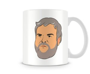 Caneca Game of Thrones hodor head