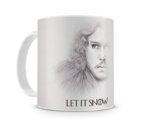 Caneca Game of Thrones Let it Snow