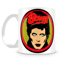 Caneca David Bowie Pop Art