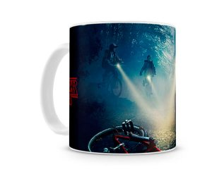 Caneca Stranger Things Bike