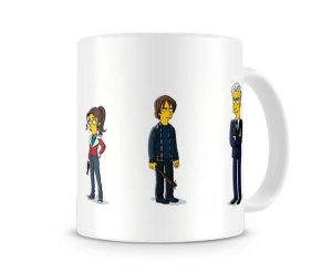 Caneca Stranger Things Simpsons II