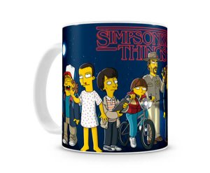 Caneca Stranger Things Simpsons III