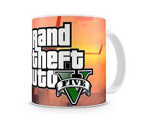 Caneca GTA V Logo