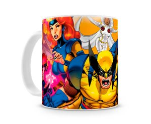 Caneca X Men Personagens I