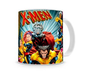 Caneca X Men Personagens IV