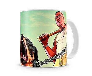 Caneca GTA V Dog